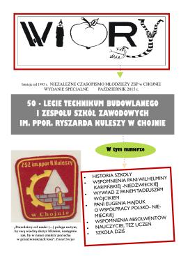 50-lecie ZSZ i Technikum - Zespół Szkół Ponadgimnazjalnych w
