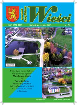 Kwiecień–czerwiec 2015 nr 50 ISSN 1732-0496
