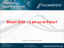 Smart Grid – a po co to Panu?