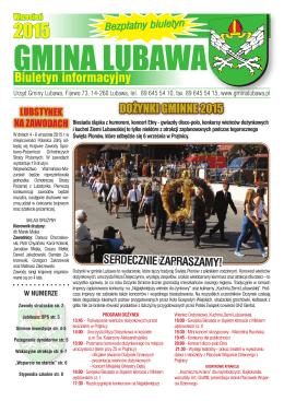 gmina lubawa - e