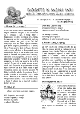 Preuzmi - Župa svetog Josipa
