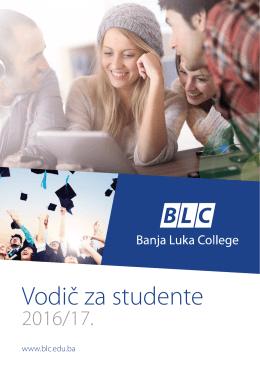 Vodič za studente - Banja Luka College