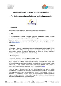Pravilnik - Agencija za mobilnost i programe EU