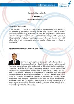 """Poslovni uzlet grada Poreča 6. svibnja 2016. """"Teatrino"""" Zajednice"""