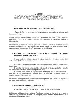 VODI Č - Fond za profesionalnu rehabilitaciju i zapošljavanje osoba