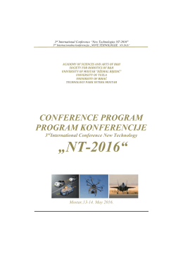 NT-2016 - ICNT