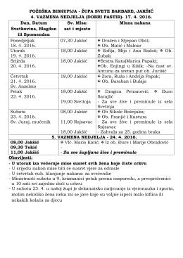 - Župa Sv. Barbare Jakšić