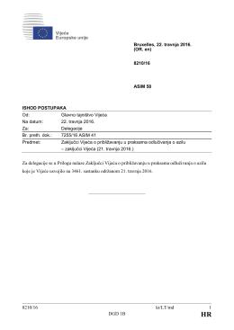 8210/16 kt/LT/md 1 DGD 1B Za delegacije se u Prilogu nalaze