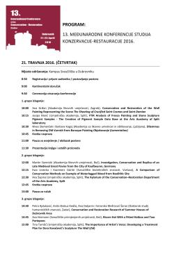 program - Sveučilište u Dubrovniku