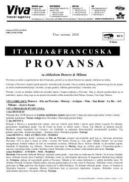provansa - Viva Travel