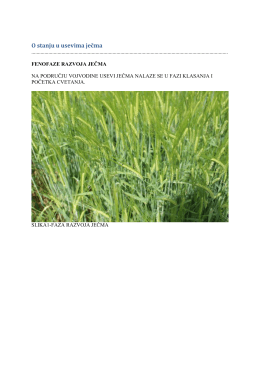 Zelena prognoza 21042016