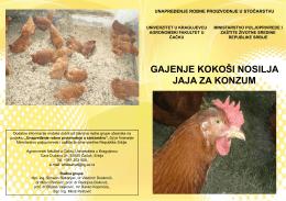 Zivinarstvo-proizvodnja jaja