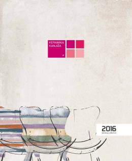 Katalog 2016 - Keramika Kanjiža