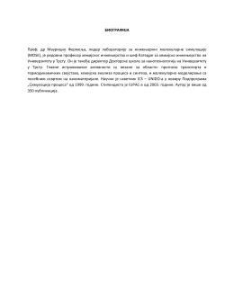 Biografija prof. dr Mauricio Fermelja