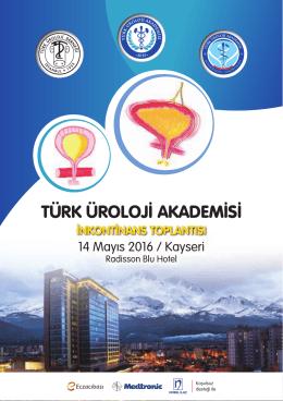 inkontinans toplantısı - Türk Üroloji Derneği