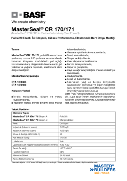 MasterSeal® CR 170/171