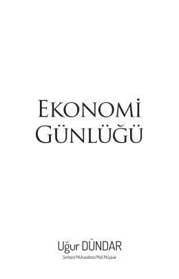Ekonomi Günlüğü - İktisadi Vizyon