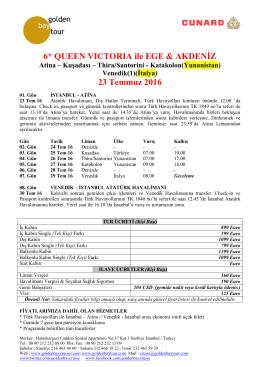 NOORDAM ile BALTIK ŞEHİRLERİ - Golden Bay Cruise Gemi Turları
