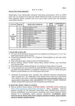 İmam-Hatip - euygulama.dpb.gov.tr