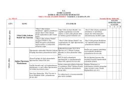 """TC """"Okul Yıllık Gelişim Modeli""""nin Tanıtımı Eğitim Öğretimin"""