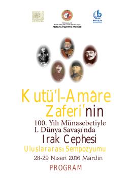 Kutu`laAmare - Atatürk Araştırma Merkezi