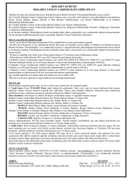 Kamu Personeli Alım İlanları - Devlet Personel Başkanlığı