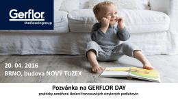 Pozvánka Gerflor Day
