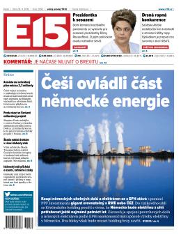 Češi ovládli část německé energie