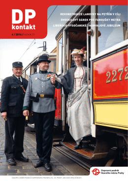04 Duben 2016 - Dopravní podnik hlavního města Prahy