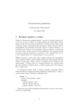 Geometrické praktikum