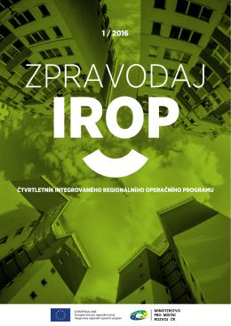 Zpravodaj IROP č. 1
