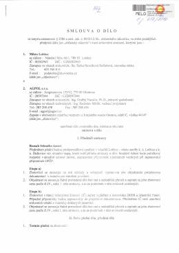 Smlouva o dílo, Protipovodňová opatření v lokalitě