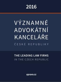 významné advokátní kanceláře
