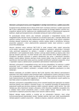 Deklarace obchodních a průmyslových komoro V4
