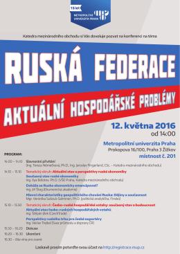 program - Metropolitní univerzita Praha