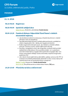 program - CFO Forum