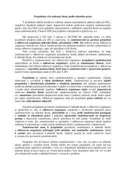 Projednání výše náhrady škody podle zákoníku práce V