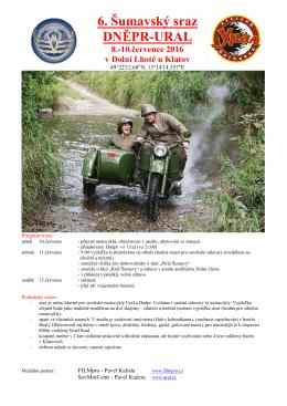 pozvánku - Motocykly Ural