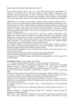 Zpráva o činnosti ČAS za rok 2015