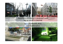 Jak se chodí v Londýně