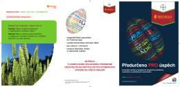 prospekt Redigo Pro - Bayer CropScience