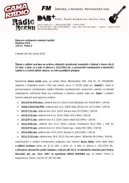 Zobrazit přiložený soubor - Rada pro rozhlasové a televizní vysílání