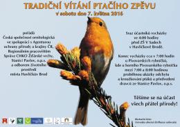 vitani ptaciho zpevu 2016