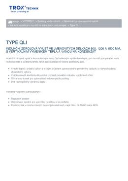 Vytisknout stránku Type QLI Link