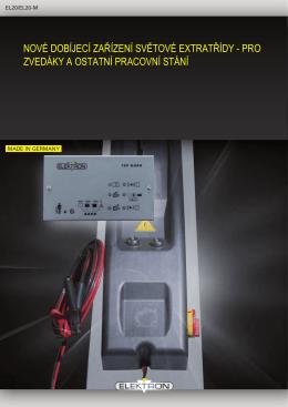 otevřít leták EL20-M