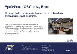 Společnost OSC, a.s., Brno