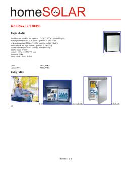 lednička 12/230/PB
