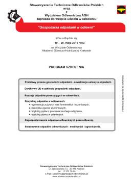 zapisz się - STOP - Stowarzyszenie Techniczne Odlewników Polskich