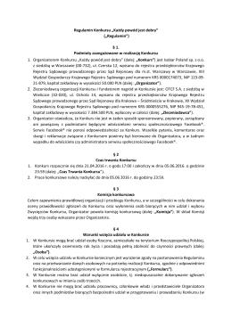 Regulamin - Zacznijwytrwaj.com
