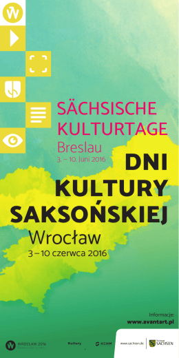 Dni Kultury SaKSońSKiej - Polen Journal polenjournal.de